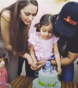 Rannvijay Singh's Wife and Daughter