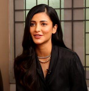 Brand Ambassador Shruti Hassan