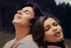 amitabh bachchan zeenat aman girlfriend