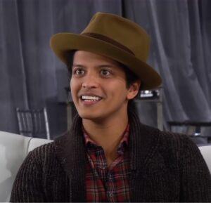Bruno Mars Most Handsome Male Singer